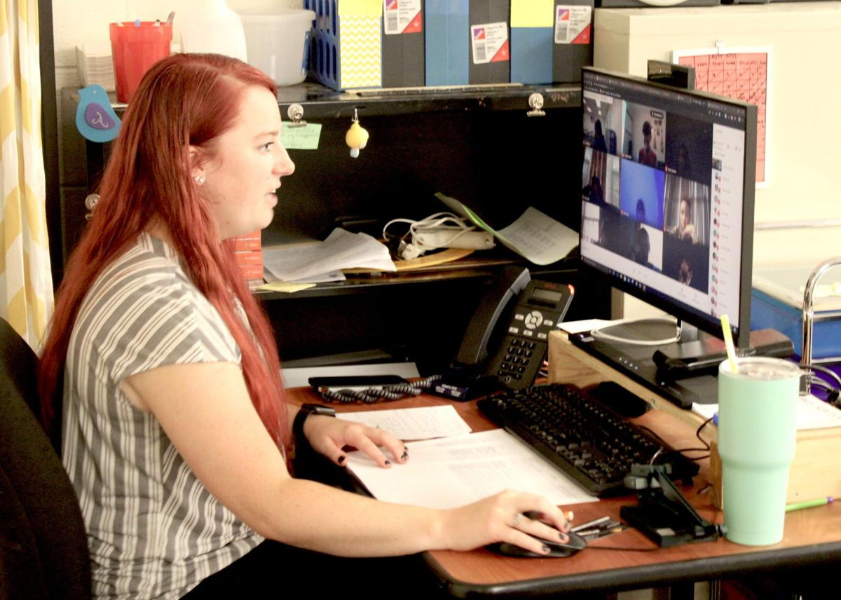 Caldwell students open school year with online classes