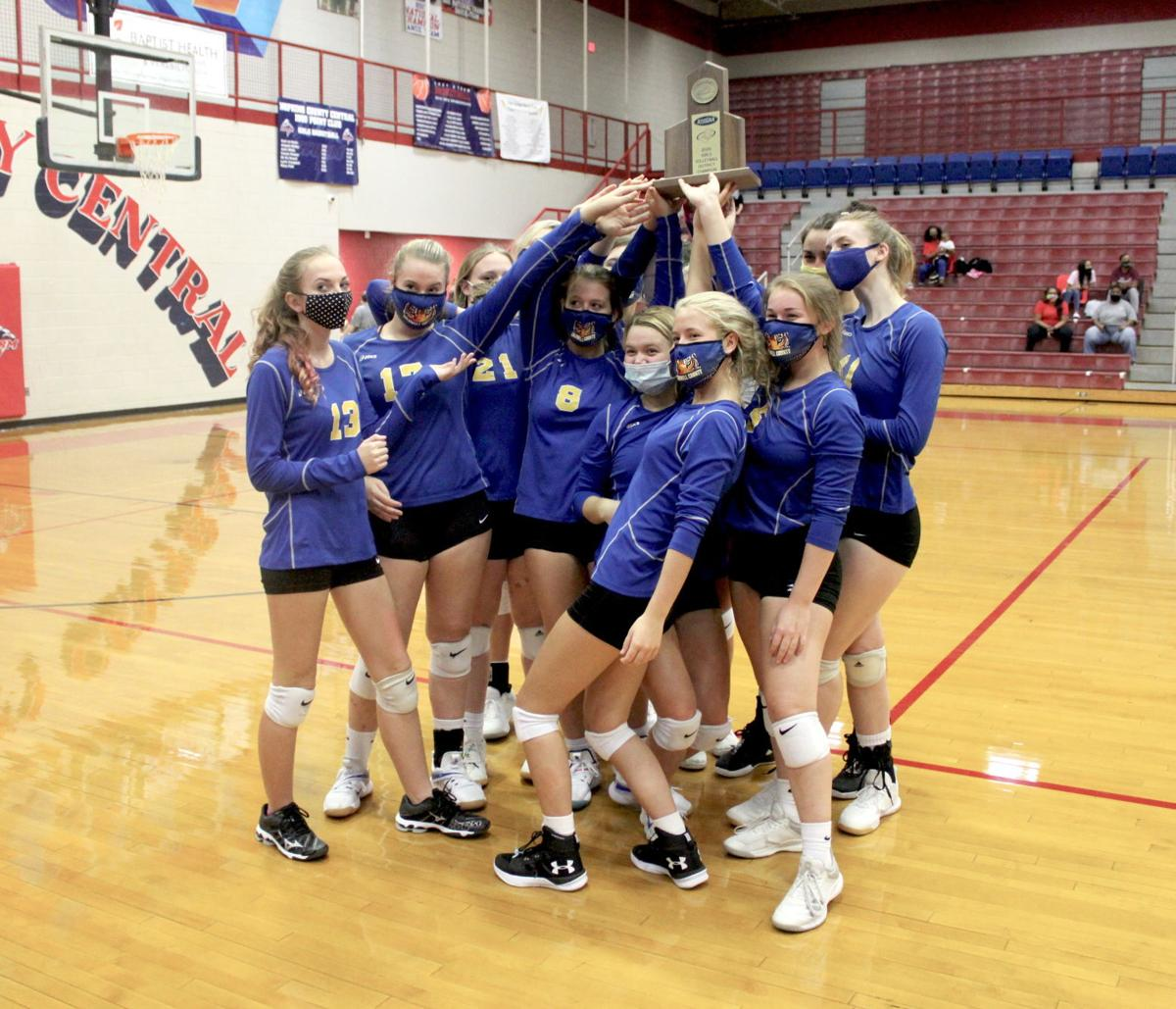 Volleyball wins 14th straight district title