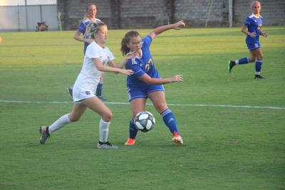 Lady Tigers control Hopkins Co. Central 3-1
