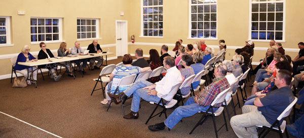 Democrat forum held