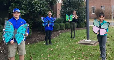 Create Princeton's butterfly artworks nearing completion