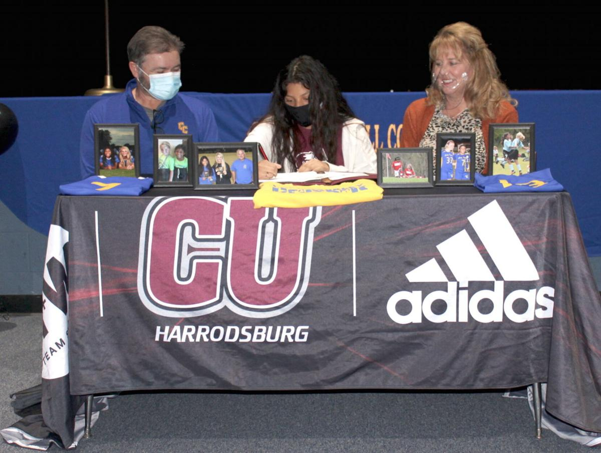 Adams, McEnaney sign to play college at CU-Harrodsburg