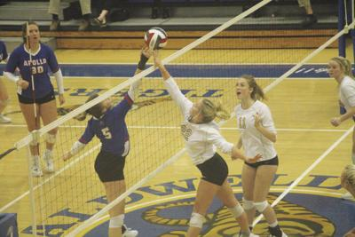 Griggs, Lady Tigers battle Apollo at the CAB