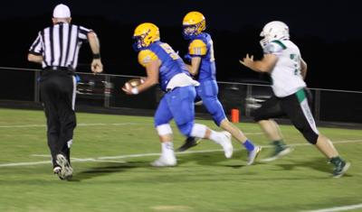 Tigers win district rout at Homecoming over Ballard Memorial