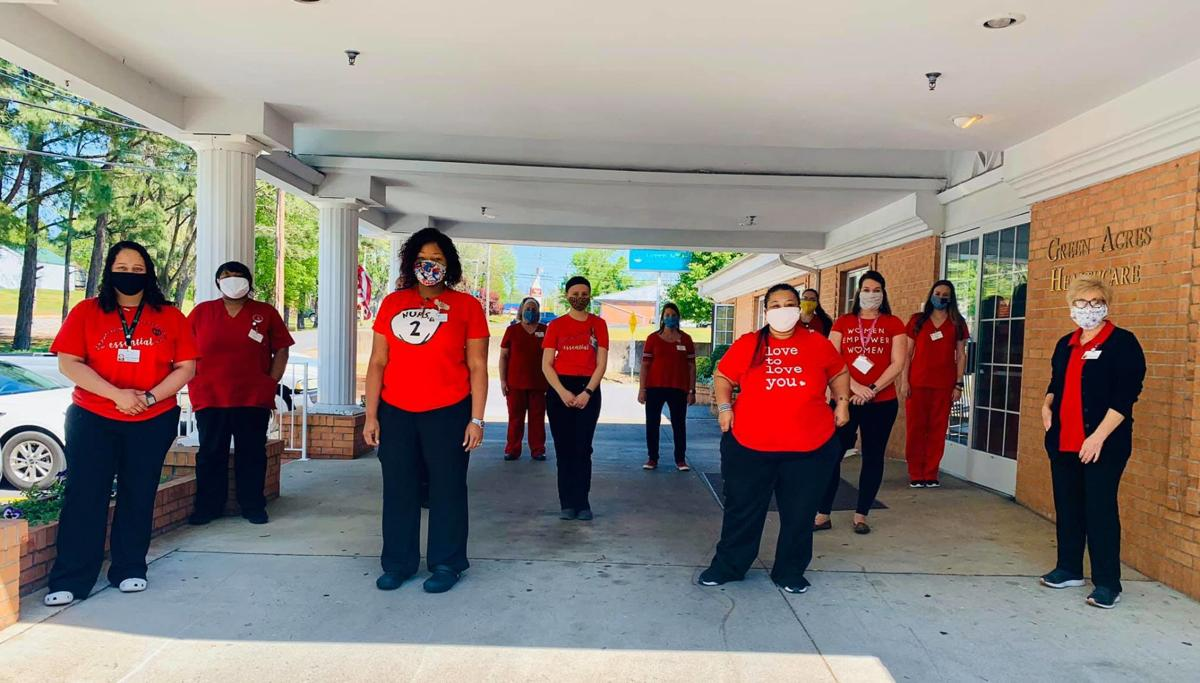 Green Acres Health Care - red for Mills