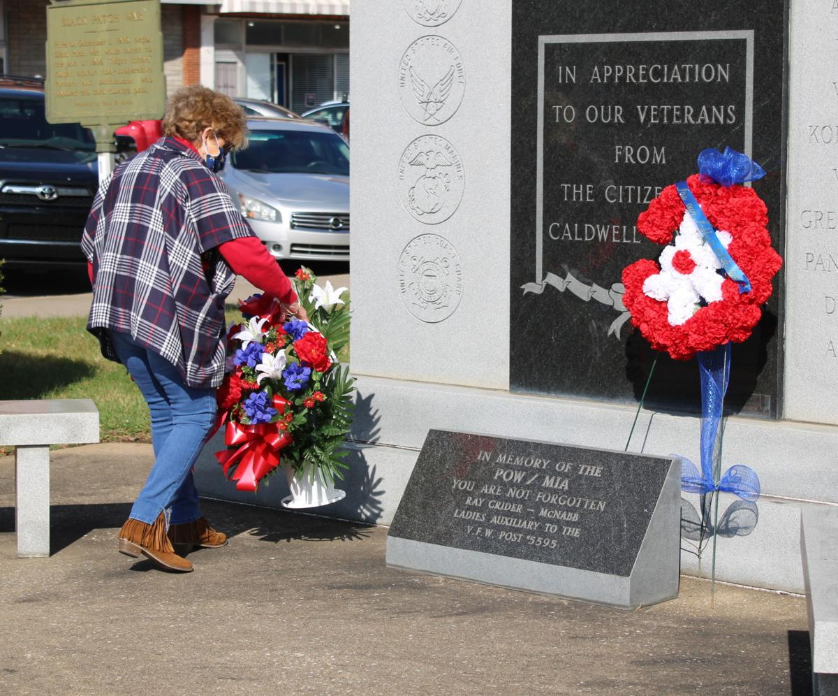 Veterans Day program presented Wednesday at courthouse