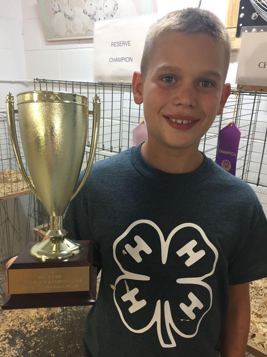 Lane Stinson brings home 4-H awards