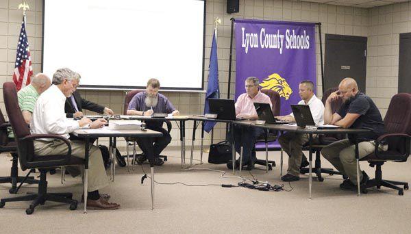 Lyon County Board of Education members