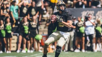 Sindelar goes for 500 yards, named Big 10 Player of the Week as Purdue Rolls Past Vanderbilt