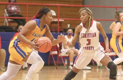 Lady Tigers beat Christian County on the road