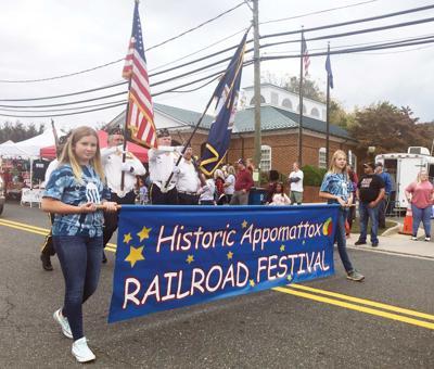 Historic Appomattox Railroad Festival banner