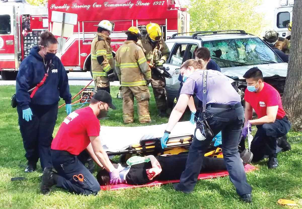 ACHS students taught dangers of distracted driving