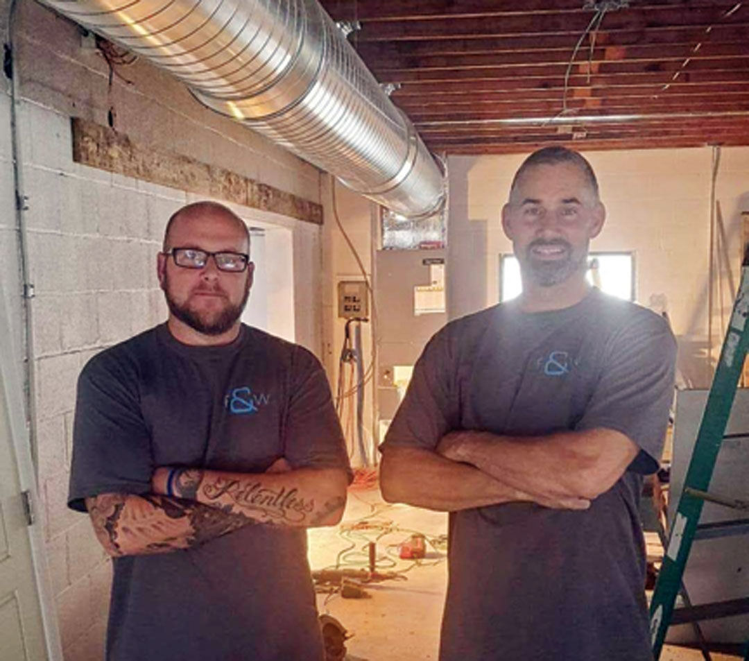 F&W Heating and Cooling co-owners
