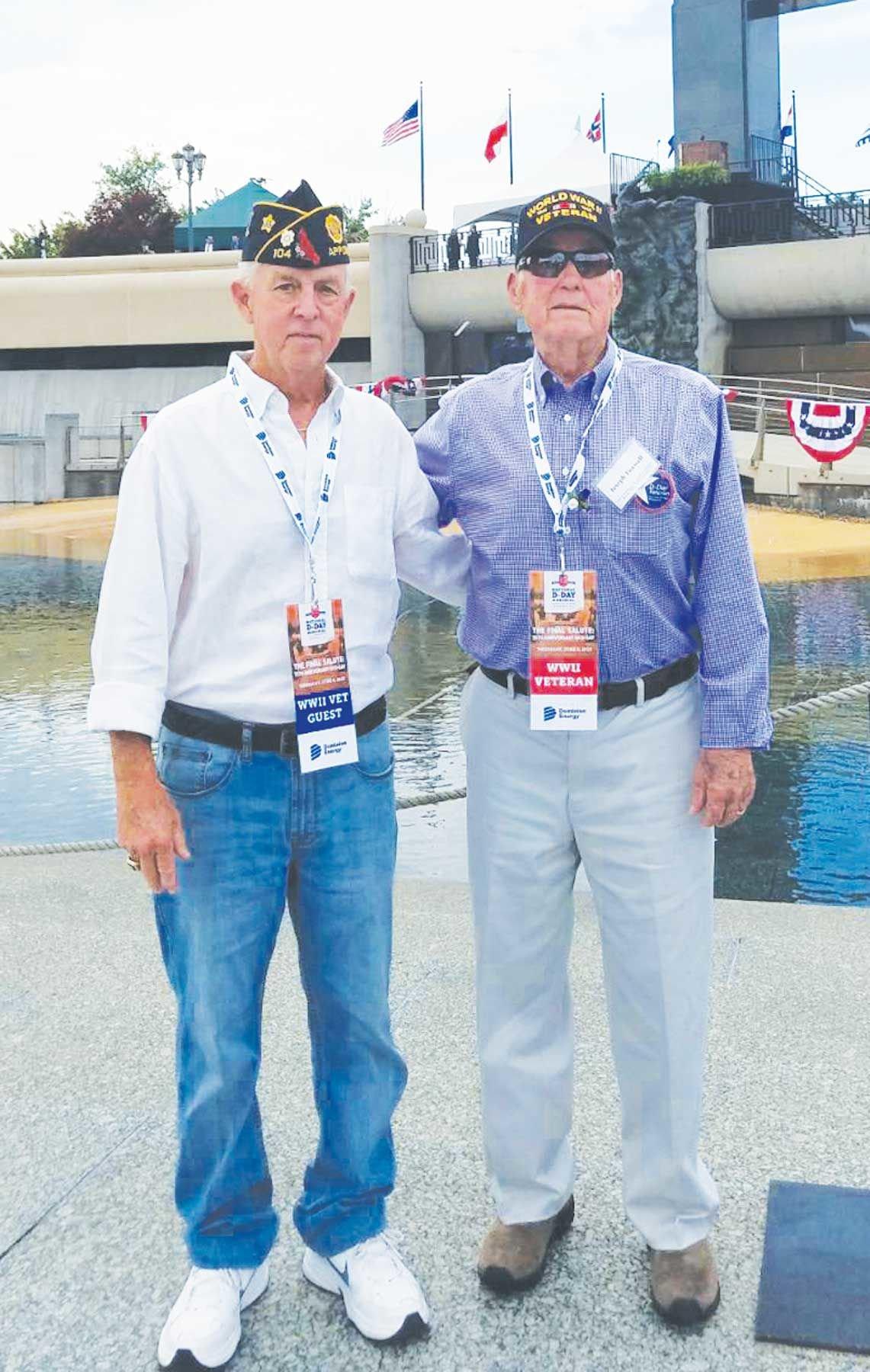 Bill Burke and Joe Foxwell