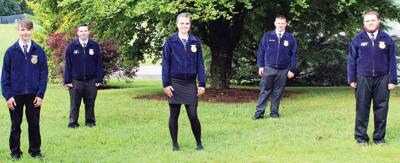 ACHS FFA Chapter Officers