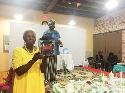 Pastor Wyatt Venable Scholarship Fund tea party fundraiser
