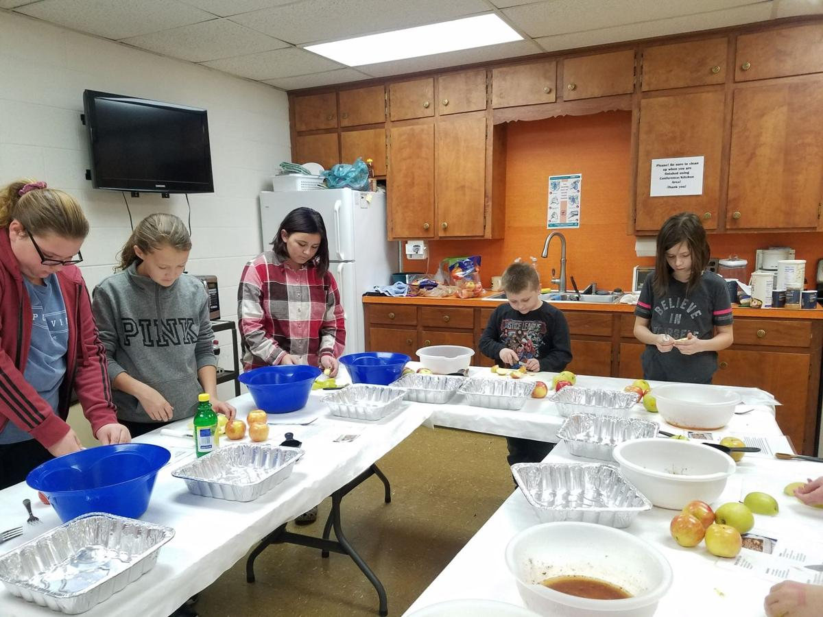 Happiness is 4-H-Participants in the 4-H Fun with Foods