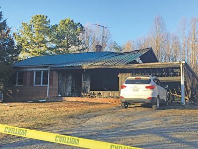 Pamplin house fire