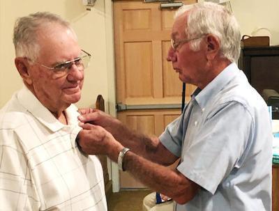 Whitehead bestowed with Masonic 60-year award