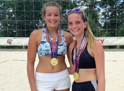 Raider volleyball player on gold-winning team at VA Commonwealth Games