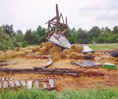 Tornado Damage in Red House