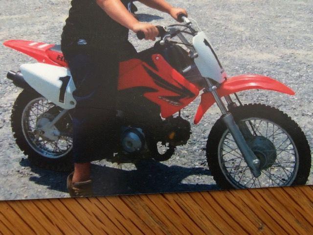 Stolen motorcycle 2