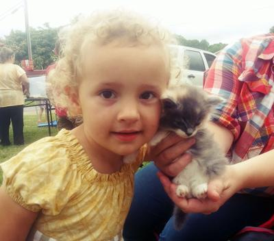 Wilt Family Farms holding animal swap
