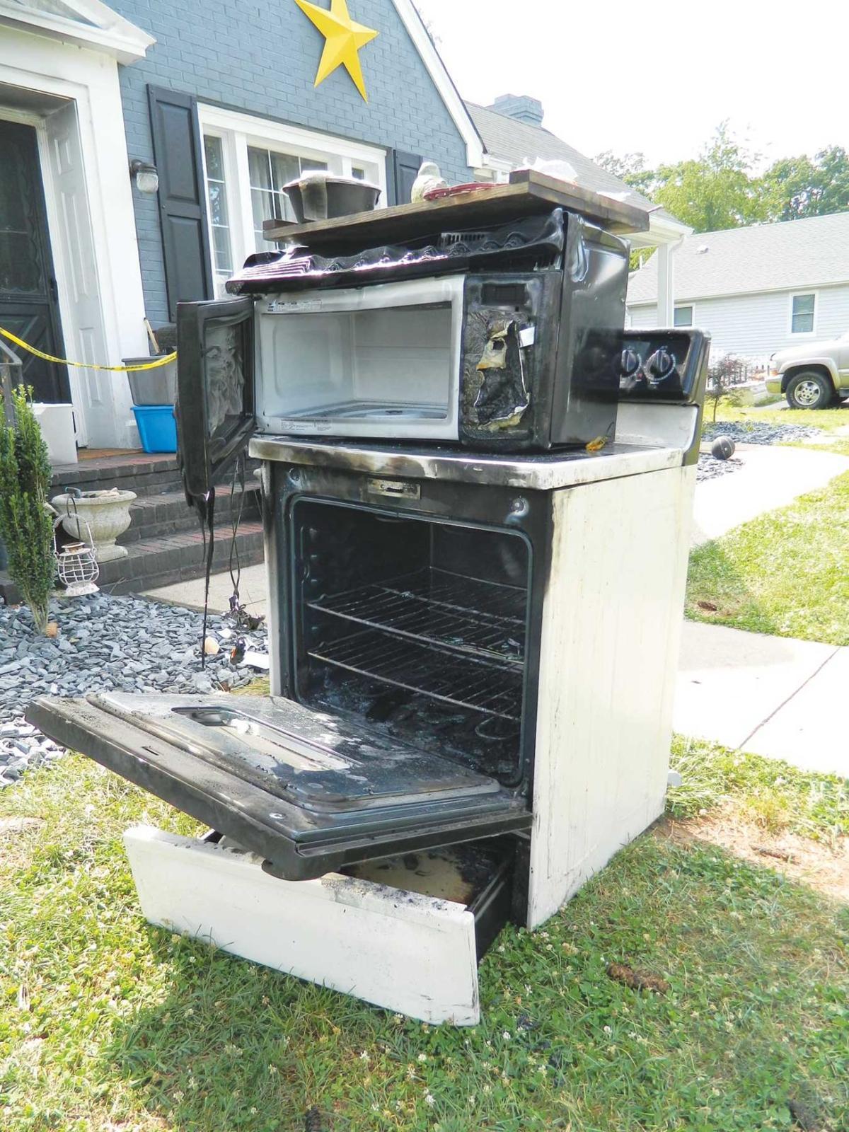 Burnt appliances