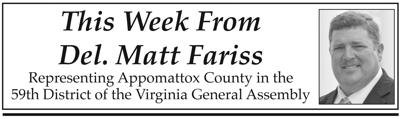 This Week from Del. Matt Fariss