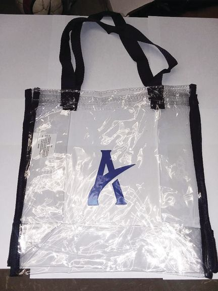 Reminder to Appomattox Raiders fans: Pittsylvania County schools have a clear bag policy for sporting events