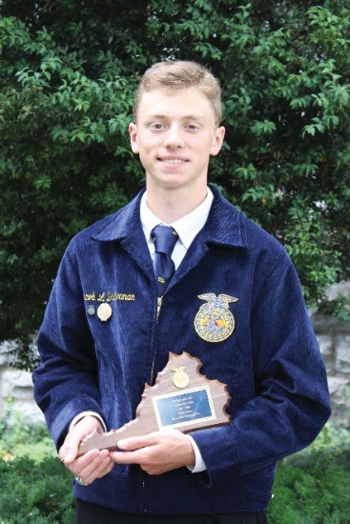 Fifth highest in Individual State Employment Skills, Jacob Dinterman