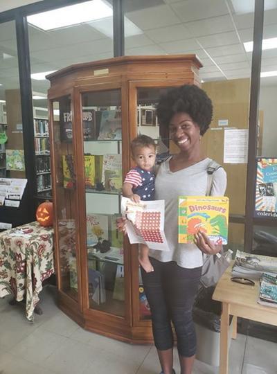 Kanisha Austin holding her son Espen