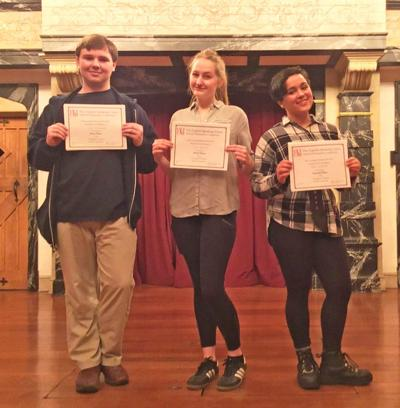 Winners of the English Speaking Union regional Shakespeare Competition