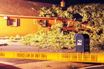 Pamplin post office damaged