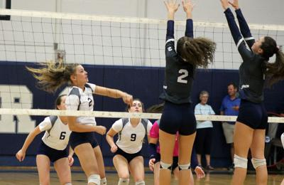 Appomattox volleyball sweeps William Campbell