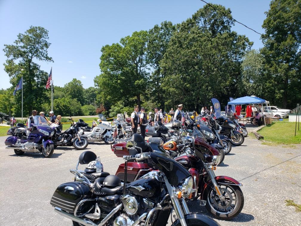 American Legion Riders motorcycles