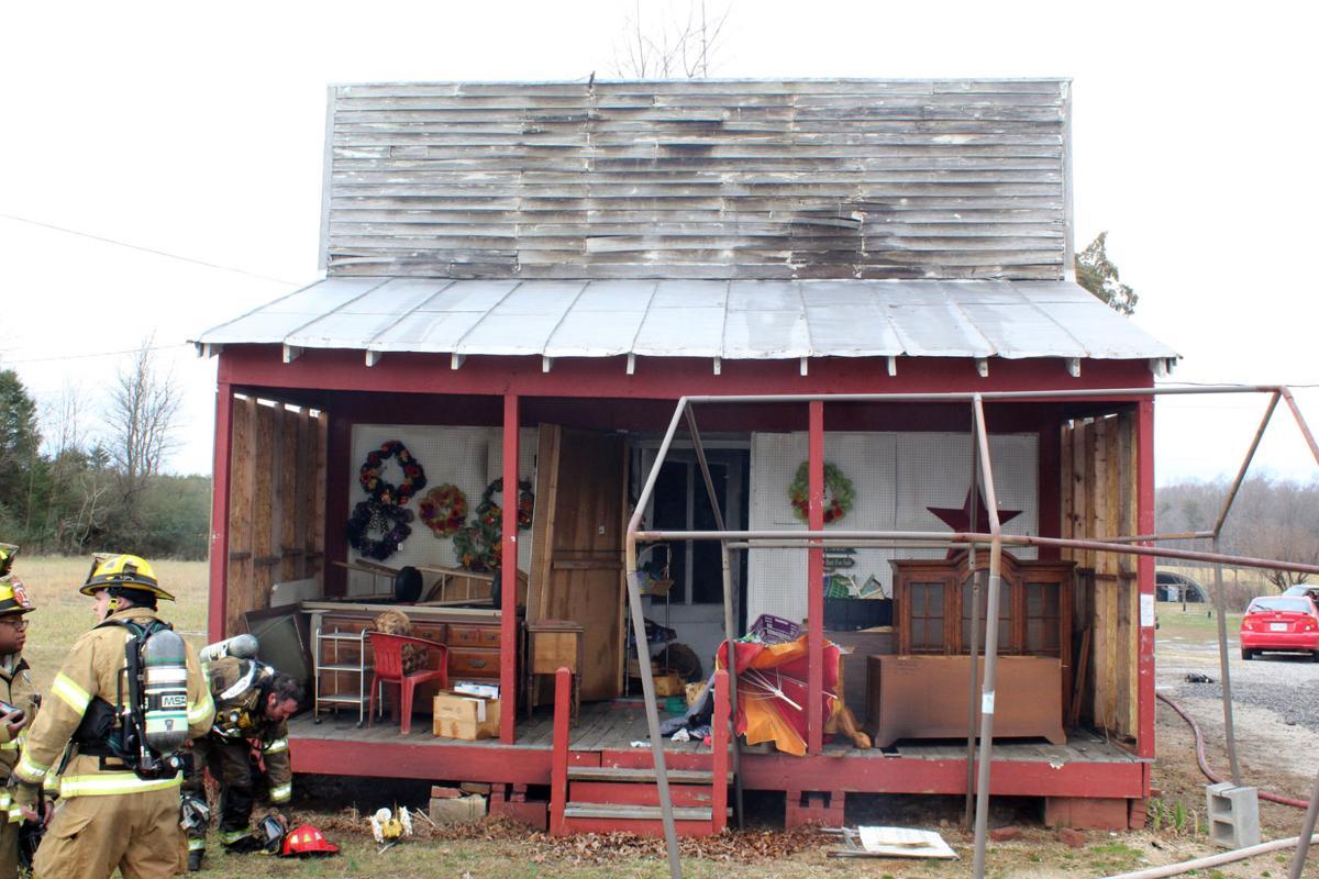 Former store on Oakville Road damaged in fire