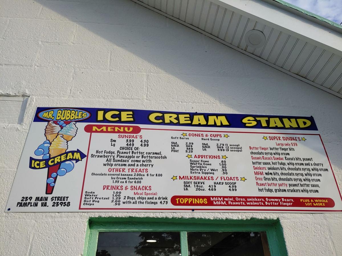 Pamplin Council OKs budget, bid on renovation: Mr. Bubbles Ice Cream now open