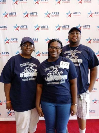 Markasha Jones and family