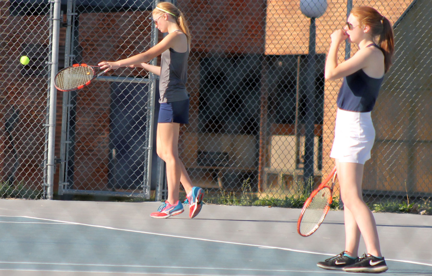 Appomattox tennis playoff update; Servis sisters' success continues