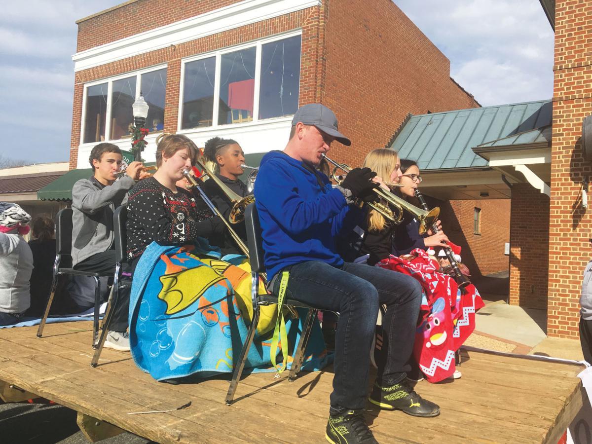 Appomattox County High School band