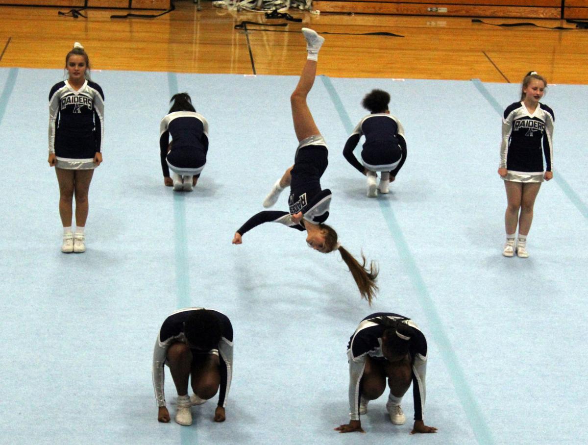 Raider Repeat! Appomattox cheerleaders advance to state championship 2nd straight year