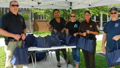Appomattox Sheriff's Office holds School Supplies Giveaway