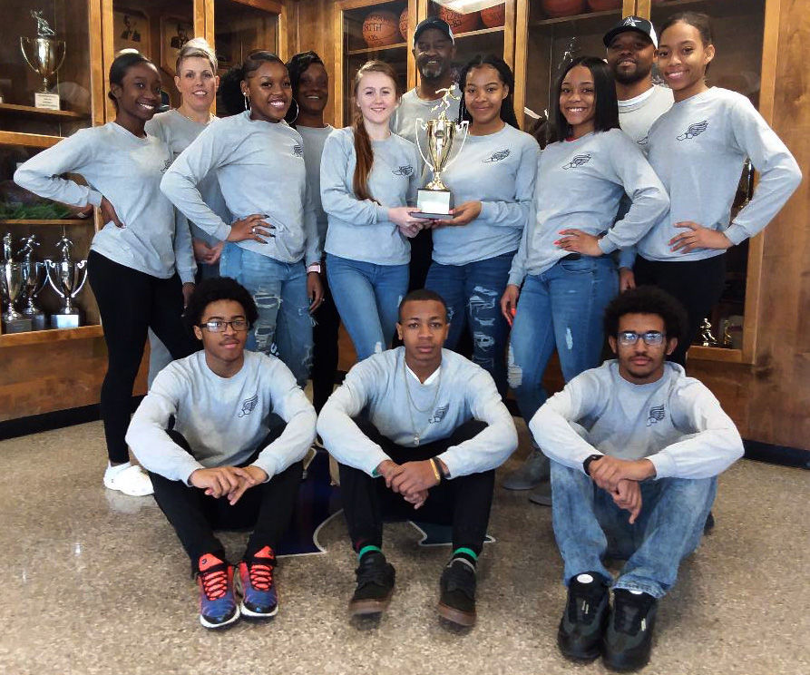 Appomattox indoor track team on their way to state championships