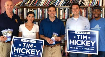 Hickey campaign hosted meet and greet last weekend