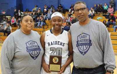 Appomattox girls basketball player Johnson awarded for free throw success