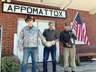 Militia raises funds for  Appomattox Sheriff's Office