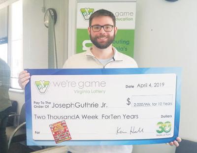 Campbell County man wins lottery   News   timesvirginian com