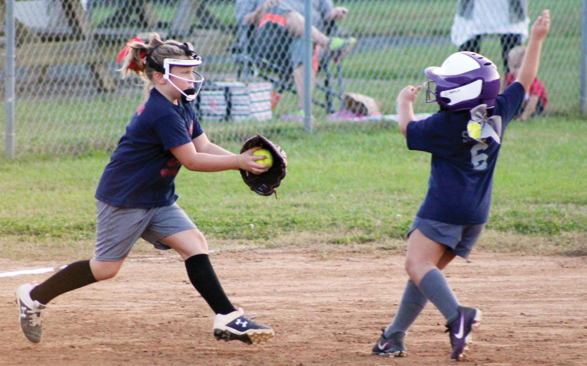 Dixie Darlings softball 1