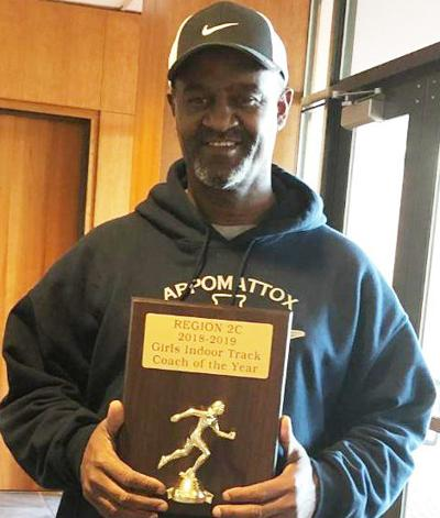 Appomattox's Crossin named Region 2C Girls Indoor Track Coach of the Year